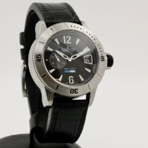 Jaeger-LeCoultre Master Compressor Diving GMT Titanio 44mm Negro Árabes