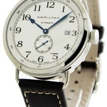 Hamilton Khaki Navy Pioneer Acier 40mm Blanc