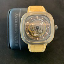 Sevenfriday Acier 47mm Remontage automatique SEVEN FRIDAY P2B/04 FALCON EDITION nouveau
