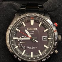 Seiko Sportura Steel 45mm Black United States of America, California, Los Angeles