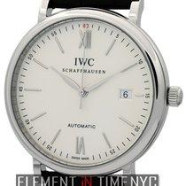 IWC Portofino Automatic Steel 40mm Silver Roman numerals United States of America, New York, New York