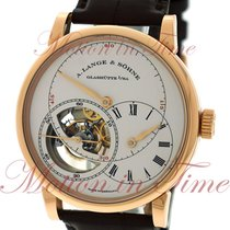 A. Lange & Söhne Richard Lange Rose gold 41.9mm Silver Roman numerals United States of America, New York, New York