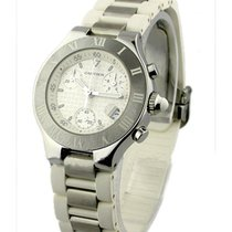 Cartier W10184U2 Must 21 Chronograph in Steel - on Stainless...