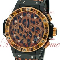 "Hublot Big Bang 41mm ""Leopard"", Leopard Print Dial,..."