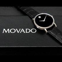 Movado RARE - Movado Red Label 1ct Diamond Bezel