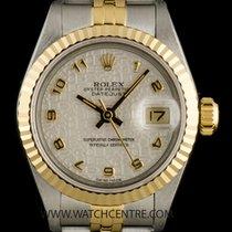 Rolex Steel & Gold O/P Silver Jubilee Arabic Dial Datejust...