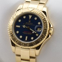 Rolex YACHTMASTER  GOLD 750 AUTOMATIK 35MM MEDIUM MID SIZE