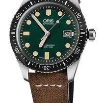 Oris Divers Sixty-Five mit grünem Zifferblatt Neuheit