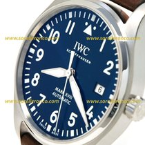 IWC Pilot Mark XVIII Petit Prince Special Edition IWC Blue Dial