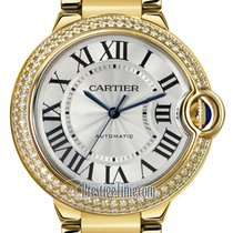 Cartier Ballon Bleu 36mm Жёлтое золото 36mm Cеребро