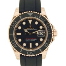 Rolex Yacht Master 116655 Rose Gold, Rubber, 40mm