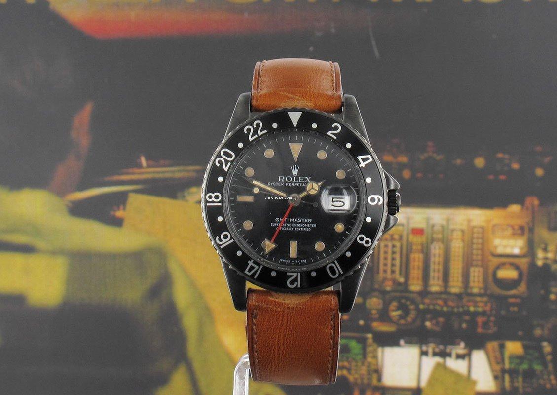 Rolex GMT-Master 16750 1982 подержанные