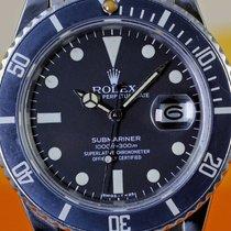 Rolex Submariner 16800, matte dial, faded insert