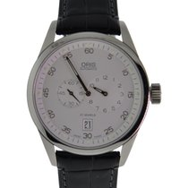 Oris Classic Xxl Regulator In Stainless Steel With White Dial...