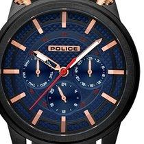 Police Steel 48mm Quartz PL15414JSB.03P new