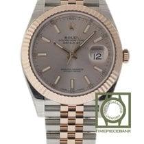 Rolex Datejust II Сталь 41mm Розовый Без цифр