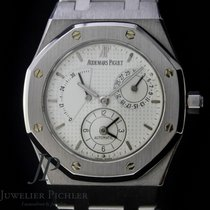 Audemars Piguet 25730ST. Stål 2000 Royal Oak Dual Time begagnad