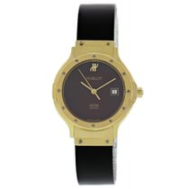 Hublot Classic pre-owned 28mm Bordeaux Date Rubber