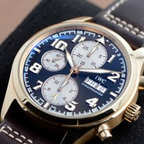 IWC Pilot Chronograph Rose gold 42mm Black Arabic numerals United States of America, Texas, Houston