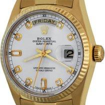 Rolex Day-Date 36 Yellow gold 35mm White No numerals United States of America, Texas, Dallas