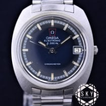 Omega Constellation pre-owned 37mm Blue Steel