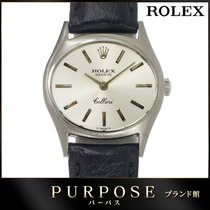 Rolex 26mm Manual winding pre-owned Cellini (Submodel) Silver