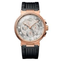 Breguet Rose gold Automatic Silver 42.3mm new Marine