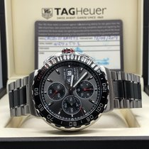 TAG Heuer Chronograph 44mm Automatic 2014 pre-owned Formula 1 Calibre 16 Grey