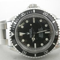 Rolex 5512 Steel 2009 Submariner (No Date) 40mm pre-owned