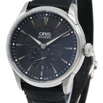 Oris Artelier Small Second Steel 40mm Black