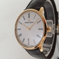 Maurice Lacroix Les Classiques Tradition Rose gold 38mm White No numerals