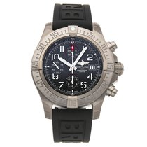 Breitling Titanium Automatic Grey Arabic numerals 45mm pre-owned Avenger Bandit