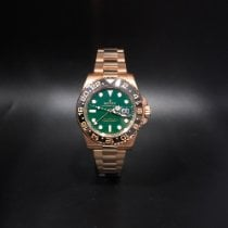 Rolex pre-owned Automatic 40mm Green Sapphire Glass 10 ATM