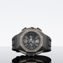 Audemars Piguet 26221FT.OO.D002CA.01 Titanium 2018 Royal Oak Concept 44mm new