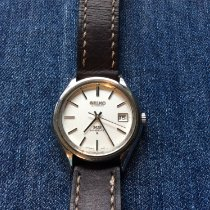 Seiko King Steel 38mm Silver No numerals