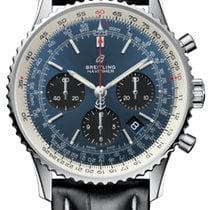 Breitling Steel Automatic Blue 43mm new Navitimer 1 B01 Chronograph 43