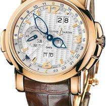 Ulysse Nardin GMT +/- Perpetual 322-66/91 pre-owned