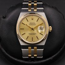 Rolex Datejust Oysterquartz Gold/Steel 36mm Champagne No numerals United States of America, California, Huntington Beach