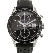 TAG Heuer Carrera Calibre 16 41mm Automatic Chronograph Leather