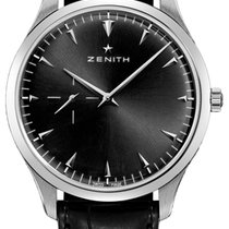 Zenith 03.2010.681/21.C493 Acier 2020 Elite Ultra Thin 40mm nouveau