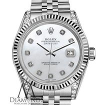 Rolex Datejust 31mm White MOP Diamond Dial/Diamond Lugs 68274