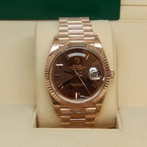Rolex Day-Date 40 228235 Chocolate Roman Dial