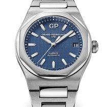 Girard Perregaux Laureato 81010-11-431-11A Girard Perregaux Dial Blu Strap Acciaio new
