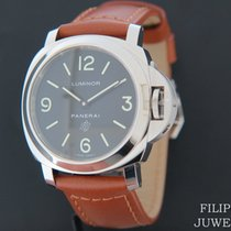 Panerai Luminor Base Logo Otel 44mm Negru