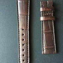 제니트 (Zenith) 19/16 mm Brown Alligator Strap with Rubber...
