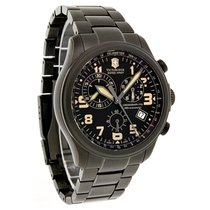Victorinox Swiss Army Infantry Vintage Mens Swiss Chrono Watch...