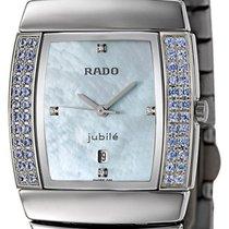 Rado Sintra Jubile Ceramos & Blue Sapphire Womens Luxury Watch...