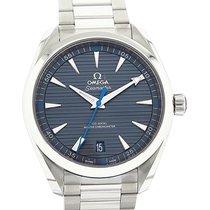Omega Seamaster Aqua Terra 41mm Co-Axial Chronometer Blue Dial