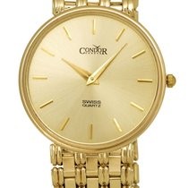 Condor 14kt Gold Mens Luxury Swiss Watch GS21002
