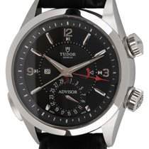Tudor Heritage Advisor Steel 42mm Black Arabic numerals United States of America, Texas, Austin